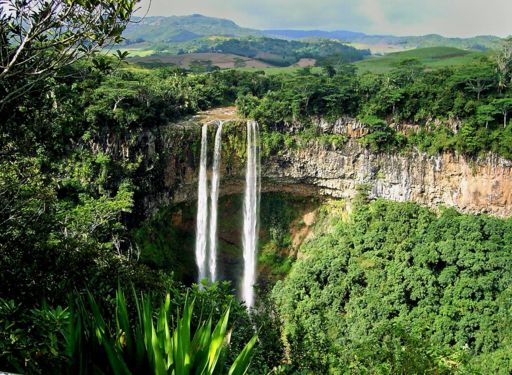 Chamarel Waterfalls